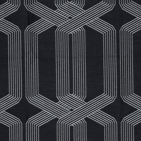 Jukebox-Paint It Black Bedding & Drapery Fabric