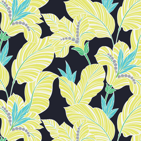 Amazon-Banana Plant Drapery & Bedding Fabric