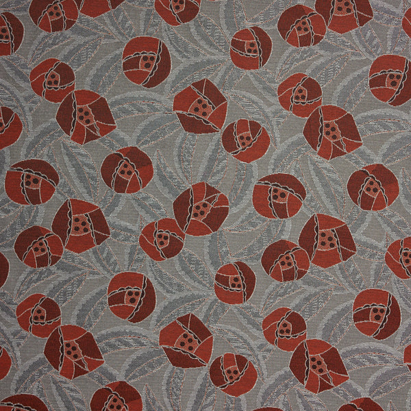 Perennial-Red Poppy Upholstery Fabric