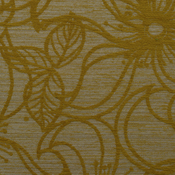 Flower Patch-Lime Twist & Shout Upholstery Fabric