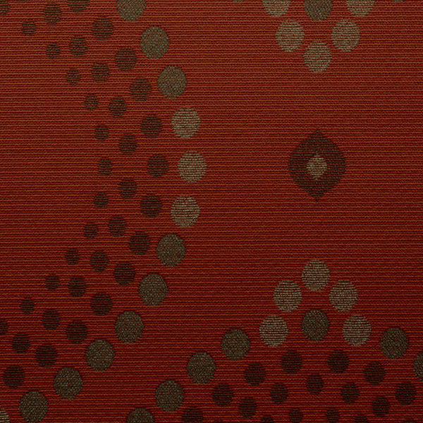 Flamenco-Ruby Stone Upholstery Fabric