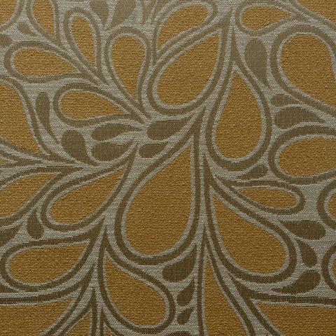 Jazz Age-Golden Opal Upholstery Fabric