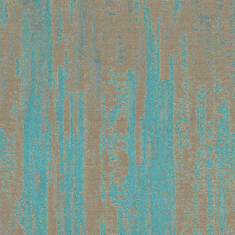 Amp-Electric Turquoise Drapery Fabric