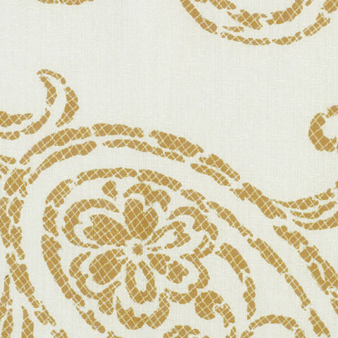 Overture-Golden Violin Drapery Fabric