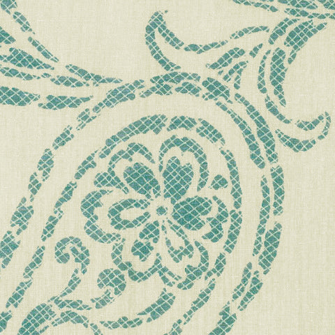 Overture-Turquoise Song Drapery Fabric
