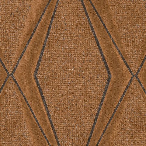 Frequency-Amber Shine Drapery Fabric