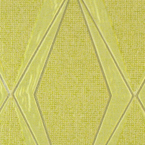 Frequency-Peridot Drapery Fabric