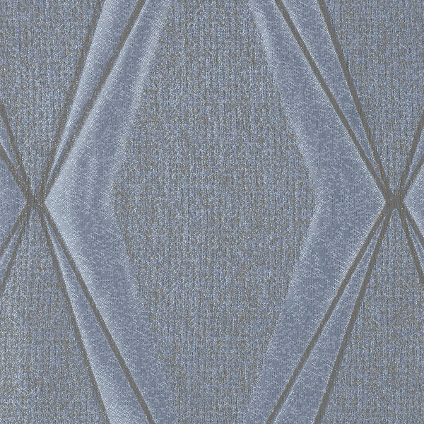 Frequency-Blue Opal Drapery Fabric