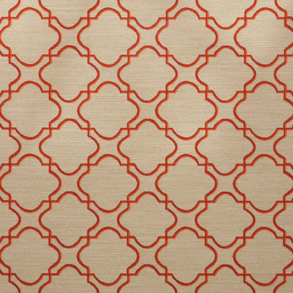 Plaza-Persimmon Upholstery Fabric