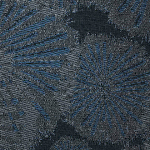 Blockwork-Caspian Blue Upholstery Fabric