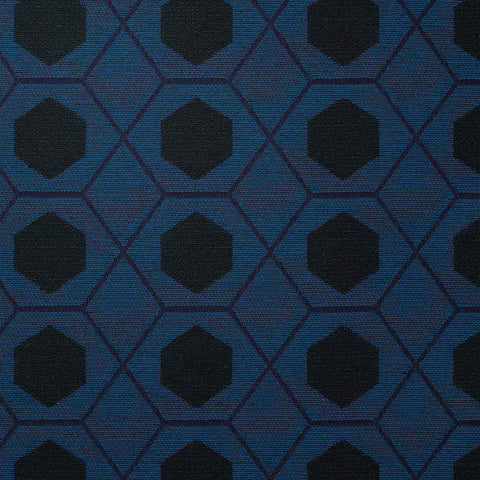 Geometry-Cobalt Upholstery Fabric