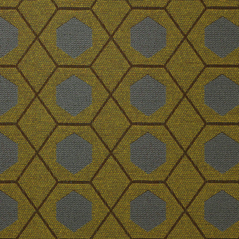 Geometry-Citrine Upholstery Fabric