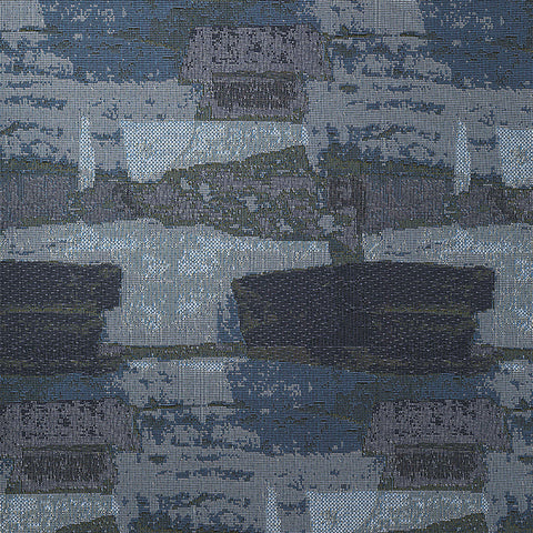 Brushwork-Blue Lagoon Upholstery Fabric