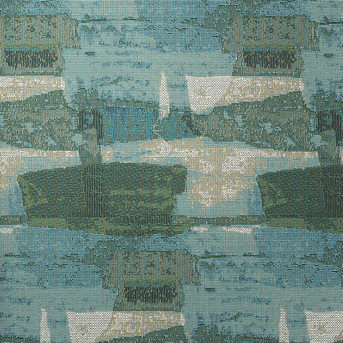 Brushwork-Sea Glass Upholstery Fabric