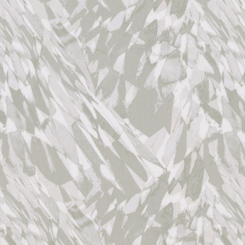 Elevate-Silver Drapery Fabric