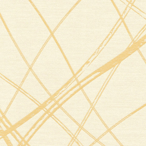 Entwine-Yellow Topaz Drapery Fabric