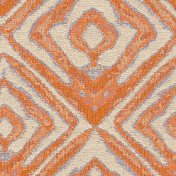 Hypnotic-Fire Opal Drapery Fabric