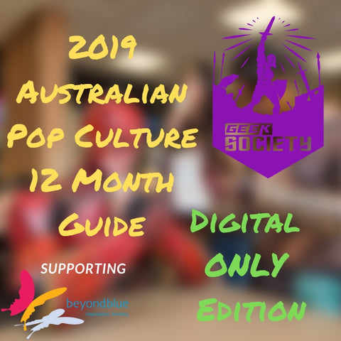 Digital Edition: 2019 Australian Pop Culture 12 Month Guide helping BeyondBlue