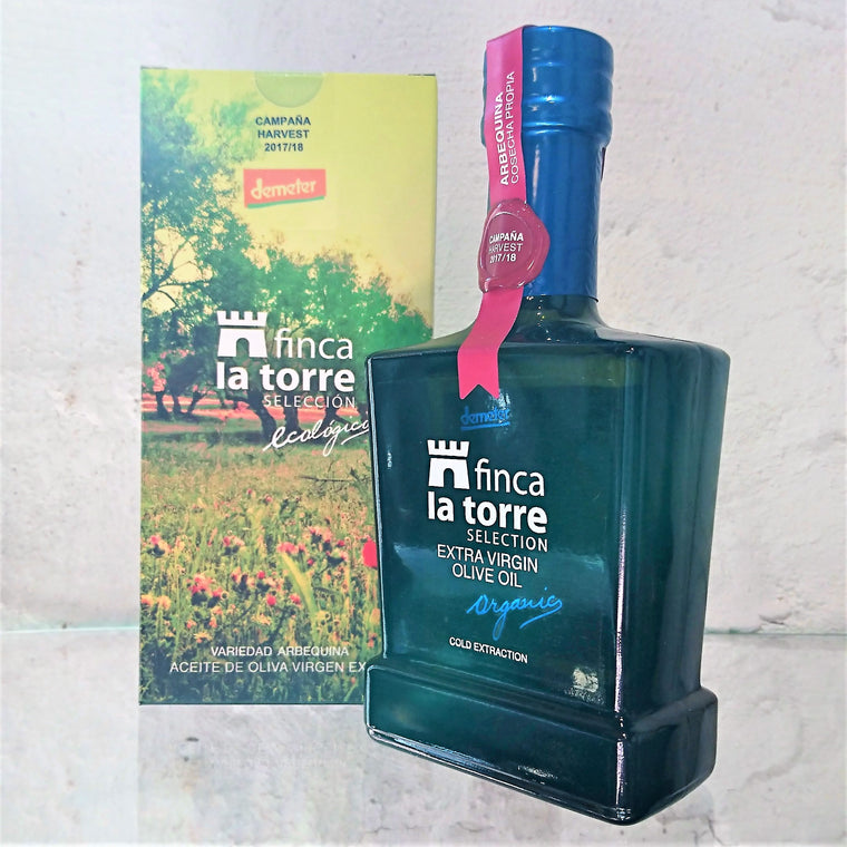 Finca La Torre - ARBEQUINA. Gift Pack 250ml.
