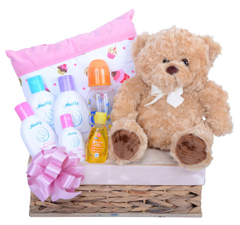 Bed Time Gift Set for Baby Girl