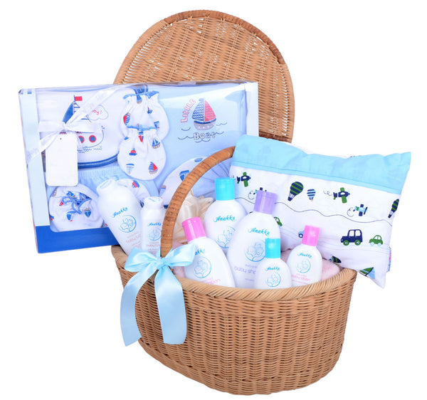 sc 1 st  Gift H&ers Malaysia & New Born Baby Boy Gift Set - Gift Hampers Malaysia