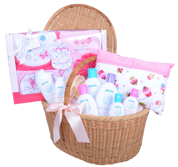 276f6ce8a1171 New Born Baby Girl Gift Set - Gift Hampers Malaysia
