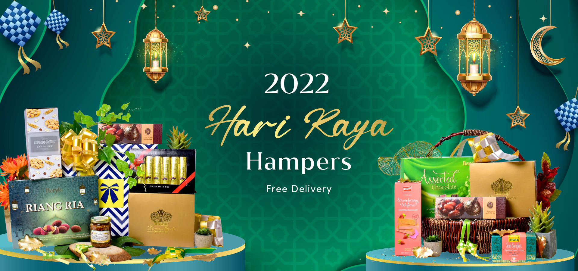 Wellness Hampers Banner