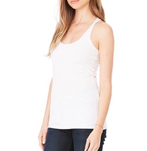 Hoop Moves List Racerback Tank