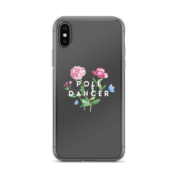 Pole Dancer in Bloom iPhone Case