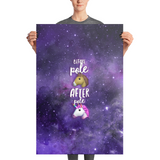 Pole Transformation Galaxy Photo Paper Poster - 36 x 24