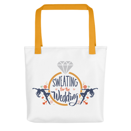 Sweating for the Wedding 💍 Tote bag