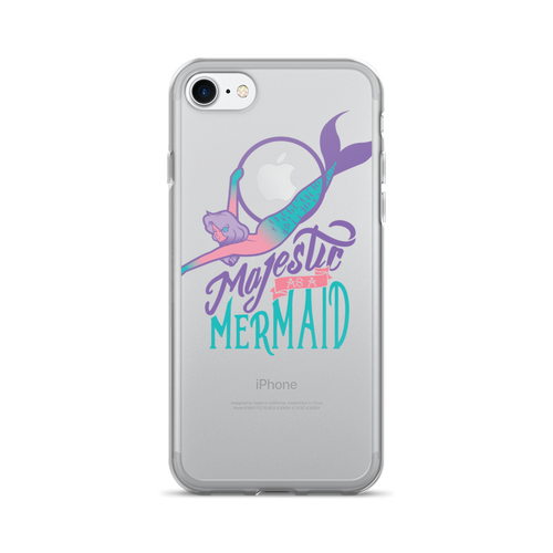 Majestic as a Lyra Mermaid iPhone 7/7 Plus Case