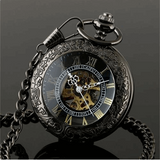 """The Clairvoyant"" Steampunk Pocket Time Piece"