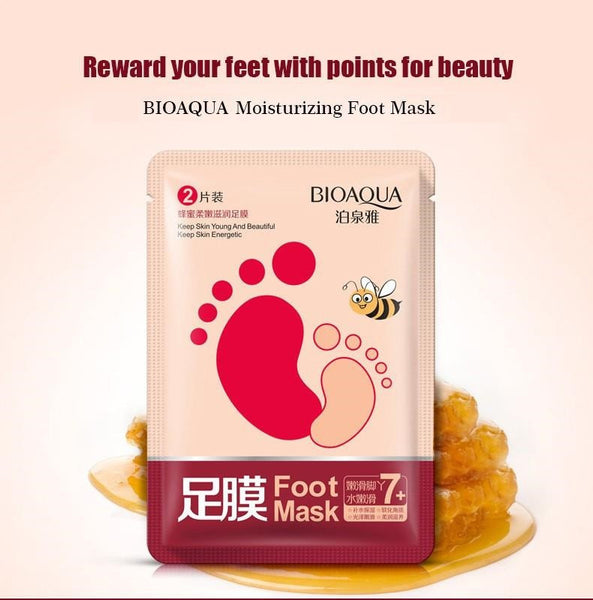 BioAqua Honey Foot Renewal Mask