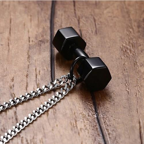 GymChic Stainless Steel Gym Necklace