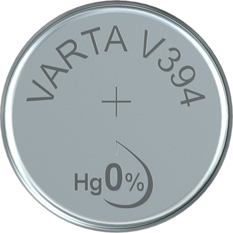 Varta Silver Oxide 394 Watch Battery - Pack of 1 - Battery Warehouse UK | Free UK Delivery on all Orders