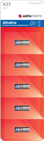 Agfa Photo 23a 12v Alkaline Battery - Pack of 5 | MN21 - Battery Warehouse UK | Free UK Delivery on all Orders