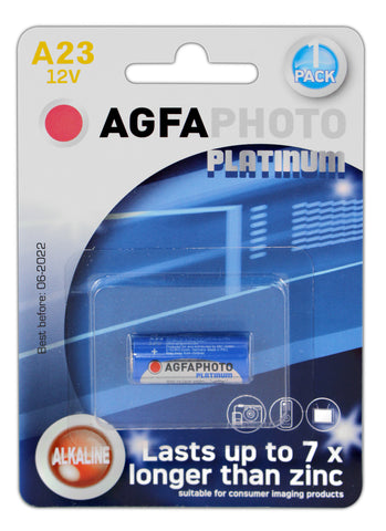 Agfa Photo 23a 12v Alkaline Battery - Pack of 1 | MN21 - Battery Warehouse UK | Free UK Delivery on all Orders