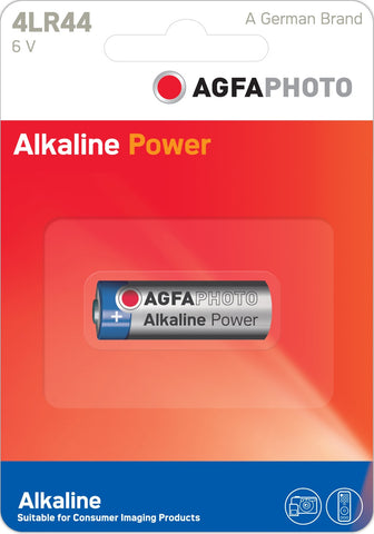 Agfa Photo 4LR44 6v Alkaline Battery - Pack of 1 - Battery Warehouse UK | Free UK Delivery on all Orders