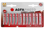 Agfa Photo Zinc Chloride AA Battery - Pack of 12 - Buy Battery Warehouse UK | Free UK Delivery on all Orders