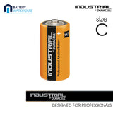 10 x Duracell Industrial Alkaline C 1.5v Battery - Pack of 10 | MN1400 LR14 Baby - Battery Warehouse UK | Free UK Delivery on all Orders