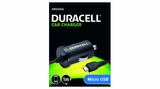 Duracell In Car 1A Micro USB Charger - Black (DR5005A) - Battery Warehouse UK | Free UK Delivery on all Orders