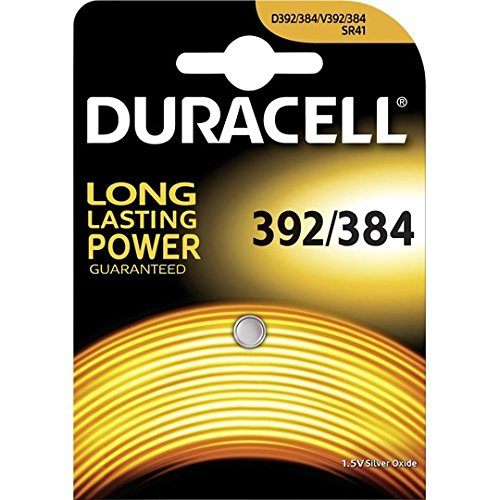 Duracell Silver Oxide 392 Watch Battery - Pack of 1 - Battery Warehouse UK | Free UK Delivery on all Orders