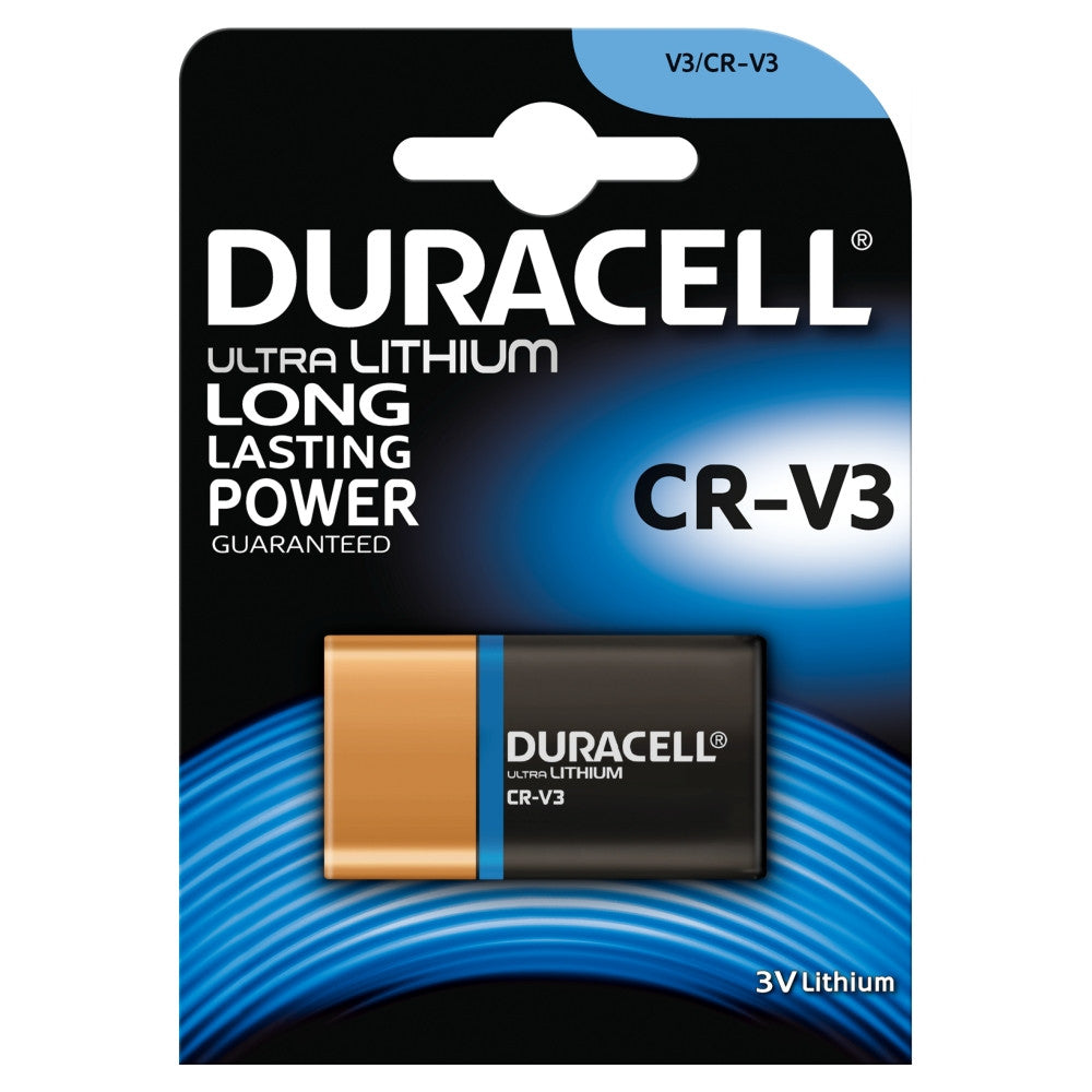 Duracell Photo Lithium CRV3 3v Battery - Pack of 1