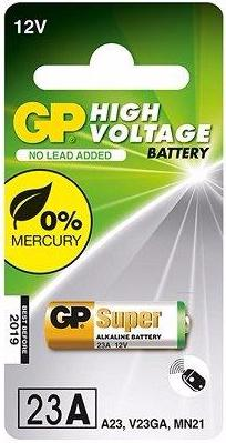 GP Alkaline 23A 12v Battery - Pack of 1 - Battery Warehouse UK | Free UK Delivery on all Orders
