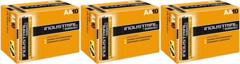 Duracell Industrial Alkaline AA 1.5v Battery - Pack of 30
