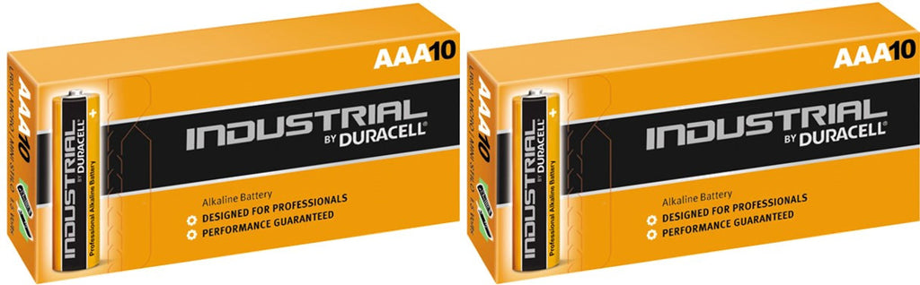 Duracell Industrial Alkaline AAA 1.5v Battery - Pack of 20