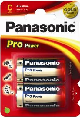 Panasonic Pro Power Gold C Battery - Pack of 2 - Battery Warehouse UK | Free UK Delivery on all Orders