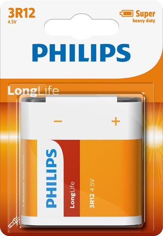 Philips Longlife Zinc 3R12 Battery - Pack of 1