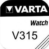 Varta Silver Oxide 315 Watch Battery - Pack of 1